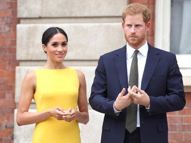 Prince Harry and Meghan Markle (photo: PA).