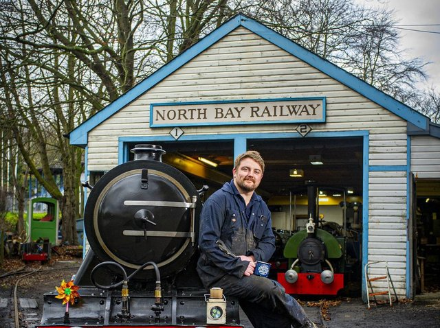 Steve Johnson, the railway's general manager. (Picture: Tony Johnson).