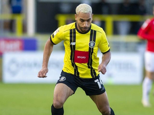 RELEASED: Harrogate Town winger Brendan Kiernan