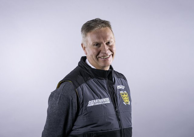 Picture by Allan McKenzie/SWpix.com - 09/01/2019 - Rugby League - Super League - Hull FC Media Day Headshots - KC Stadium, Hull, England - Adam Pearson.