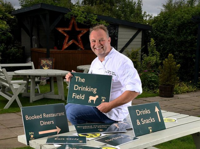 Andrew Pern, who owns some of Yorkshire's most famed eateries- The Star in Harome as well as Star Inn The City in York and Star In the Harbour in Whitby, is among many looking forward to something more akin to normality in his restaurants.