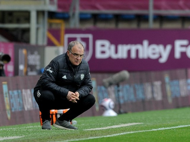 NO COMMENT: Marcelo Bielsa preferred not to talk about the flashpoint