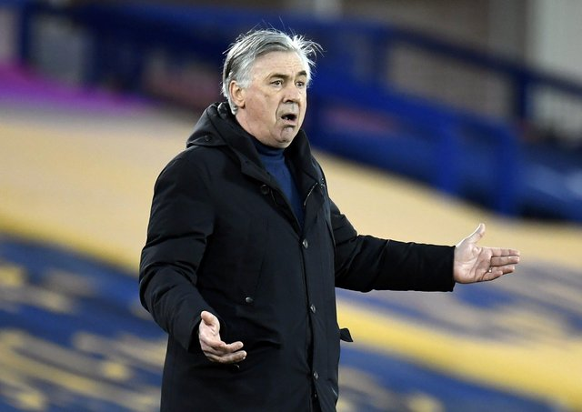MANAGER: Carlo Ancelotti. Picture: Peter Powell/PA Wire.