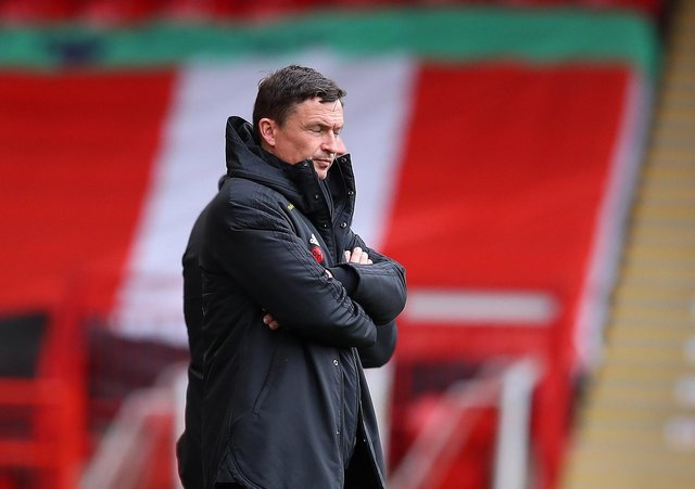 Paul Heckingbottom: Sheffield United's interim manager on five-man shortlist for top job.
