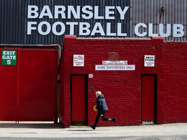 RETURN: Fans will be back in the stands at Oakwell when Barnsley take on Swansea in the Championship play-offs on Monday night. Picture: Getty Images.