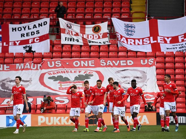 RETAINED LIST: Barnsley will release five players next month. Picture: Getty Images.