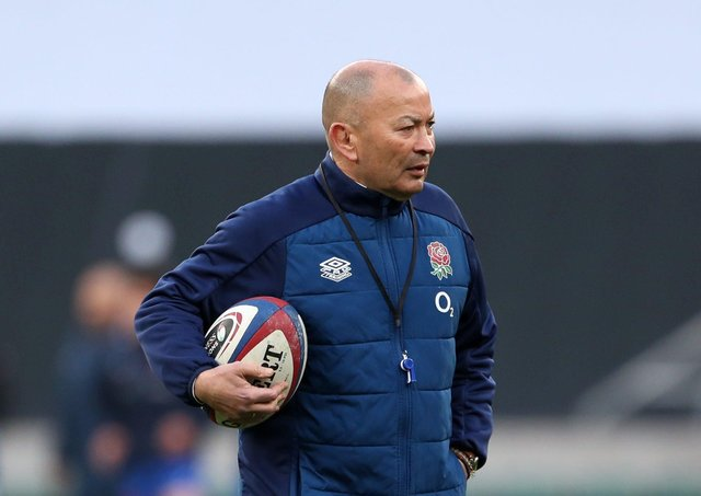 Special guest: England head coach Eddie Jones visited Hull FC last week. Picture: David Davies/PA Wire.