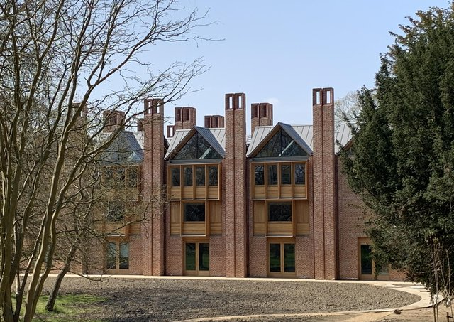 York Handmade Brick Company supplies 300,000 bricks for the new library at Magdelene College in Cambridge