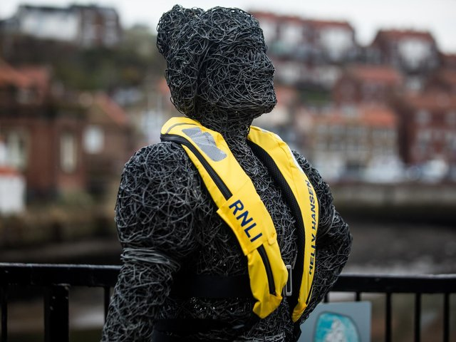 Helly Hansen and the RNLI lifejacket campaign: Whitby Walk with Heritage Project by Emma Stothard and photographed by Ceri Oakes.