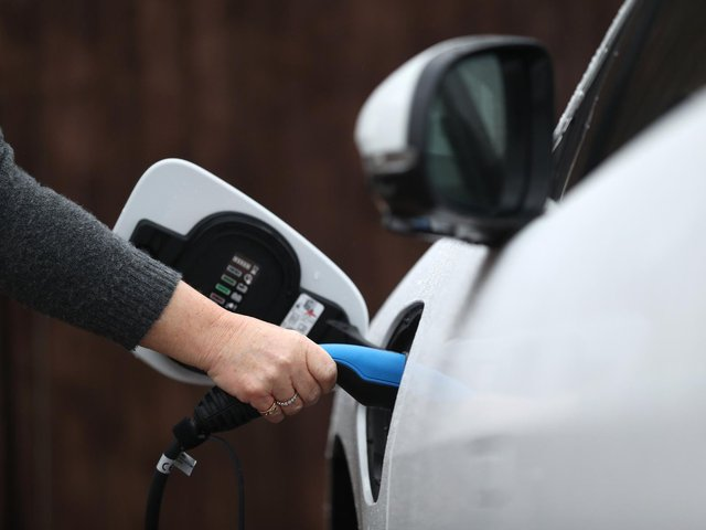 The analysis has looked at access to electric vehicle charging points.