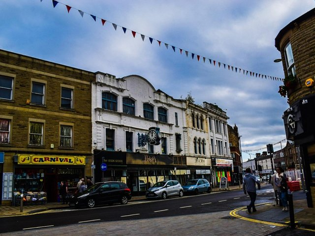 Eldon Street in Barnsley has been selected for Heritage Action Zone support