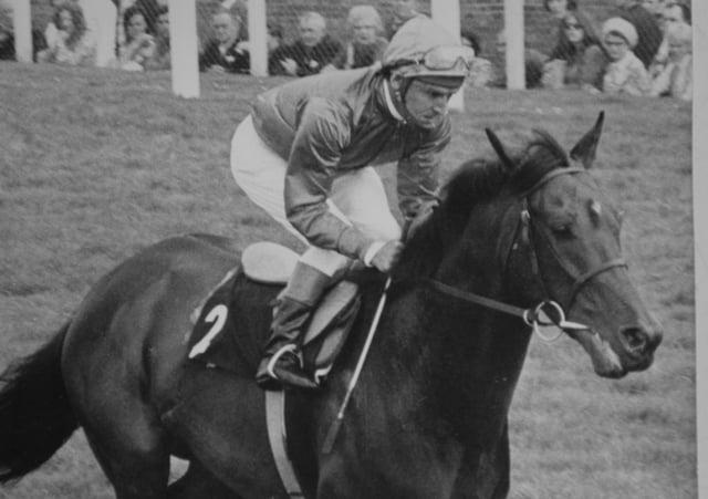 Brigadier Gerard with Bradford-born jockey Joe Mercer in the saddle.