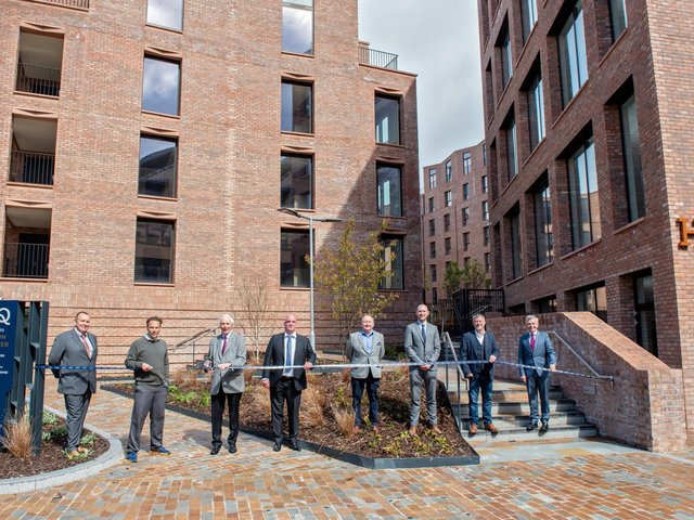 The first residents have moved into Hudson Quarter in York