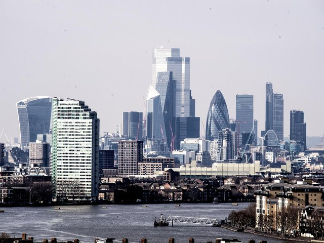 The disposal has been announced to the City of London