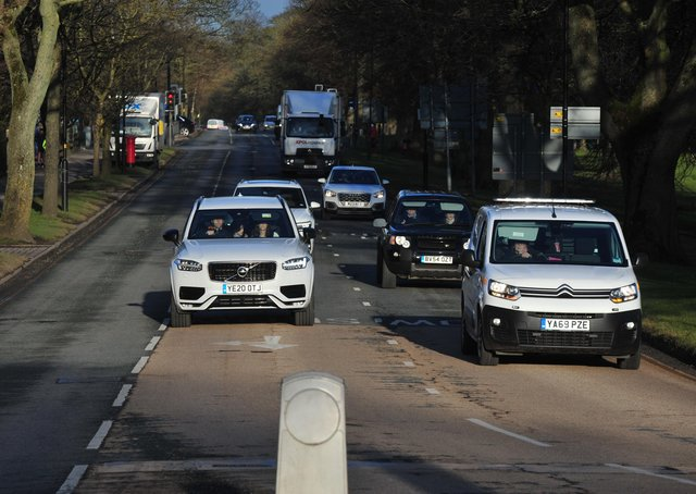 What should be done to reduce congestion in Harrogate?