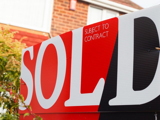 Homes are selling like hotcakes