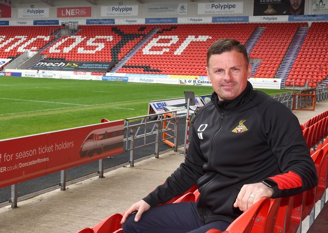 Richie Wellens is announced as the new manager of Doncaster Rovers. Picture: Andrew Roe/AHPIX