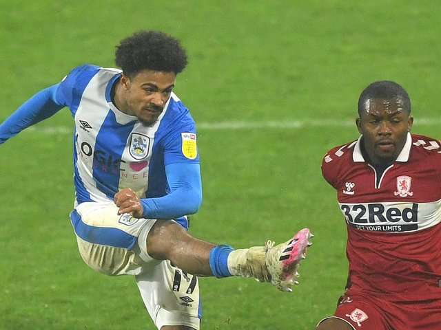 Josh Koroma shone for Huddersfield Town during 2020/21. Pictures: Getty Images.