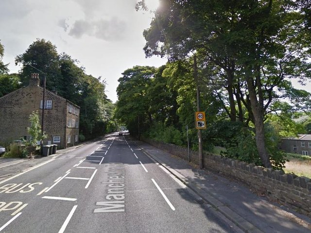 Manchester Road near Marsden, Huddersfield. Picture: Google Street View