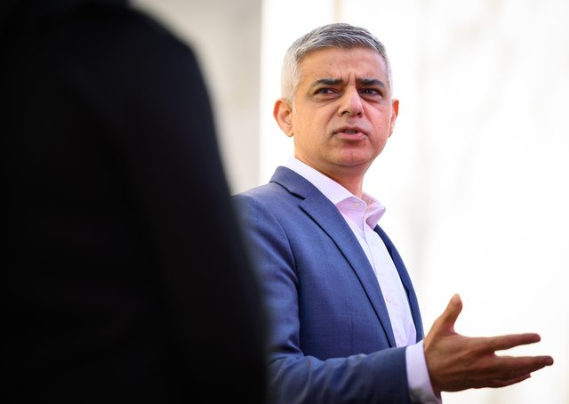 Sadiq Khan has just been re-elected as the mayor of London.