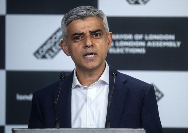 Sadiq Khan is the Mayor of London.