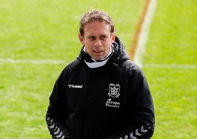 Undaunted: Hull FC head coach Brett Hodgson.