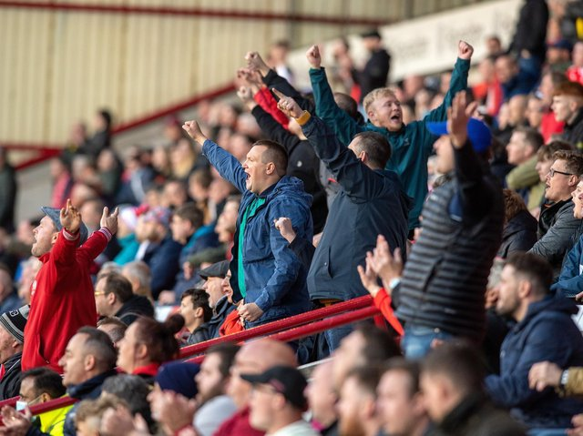 FANFARE: Barnsley coach Valerien Ismael could not believe the support his team received against Swansea City