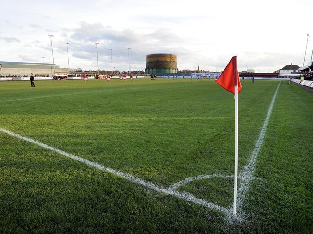 QUEENSGATE: Bridlington Town's home will be hosting a higher standard of football next season