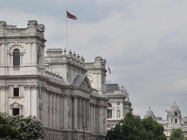 The Treasuery building in Whitehall (Pic: Getty)