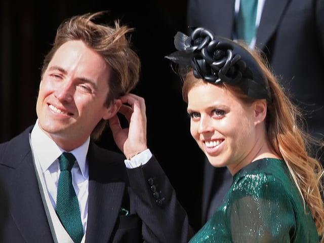 Princess Beatrice and her husband Edoardo Mapelli Mozzi