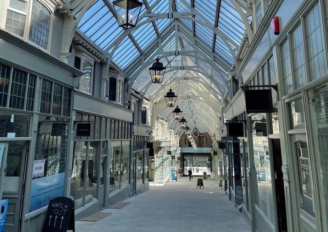 The Grand Arcade in Leeds