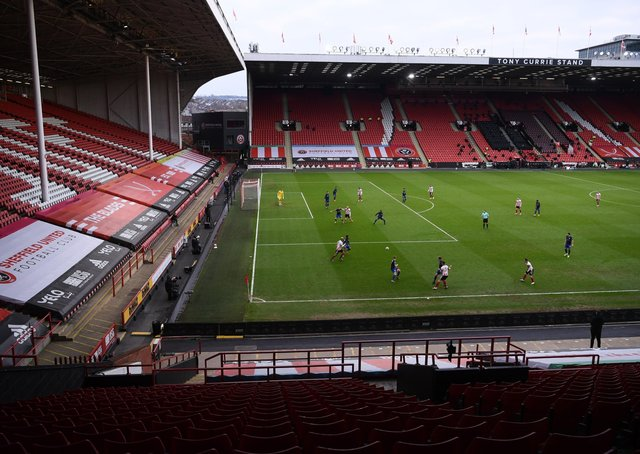 Bramall Lane, Sheffield, will host group games and a semi-final at Euro 2022 (Picture: PA)