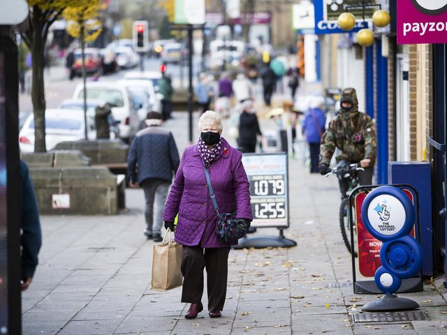 Batley town centre, part of the constituency heading for a by-election. Picture: JIm Fitton.