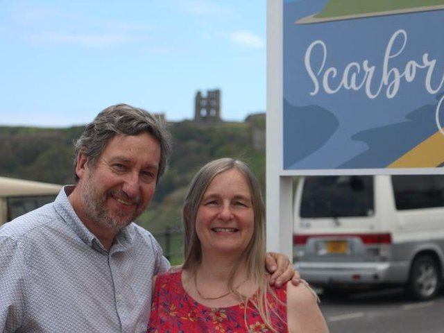 Tony Bates, 59, and his wife Paula, 55, bought Hotel Ellenby in Scarboroughin October