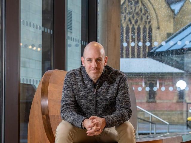 Robert Hastie, artistic director of Sheffield Theatres. (James Hardisty).