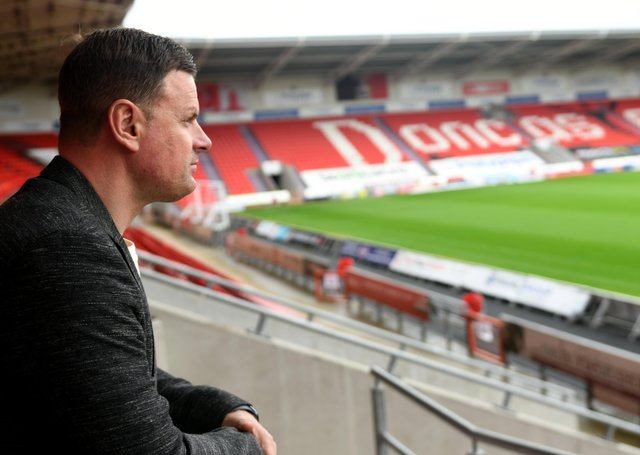 New Doncaster Rovers manager Richie Wellens. Picture: Gary Longbottom