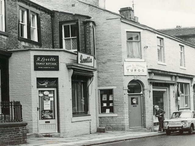 Lovette & Widdops was a bakery, pictured here in the 1960s, and is better known as the birthplace of the Bronte family.