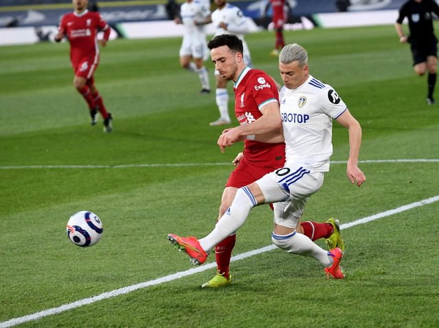SELECTION: Leeds United's Ezgjan Alioski is an important player for North Macedonia