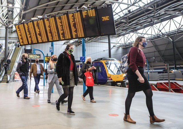 the Government has promised to upgrade rail services between York, Leeds and Manchester.