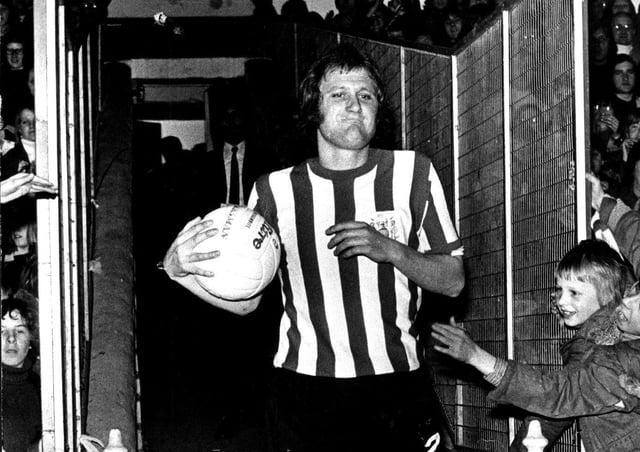 Sheffield United legend Len Badger.