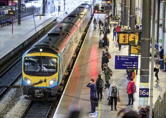 Transport Secretary Grant Shapps has announced his rail reforms.