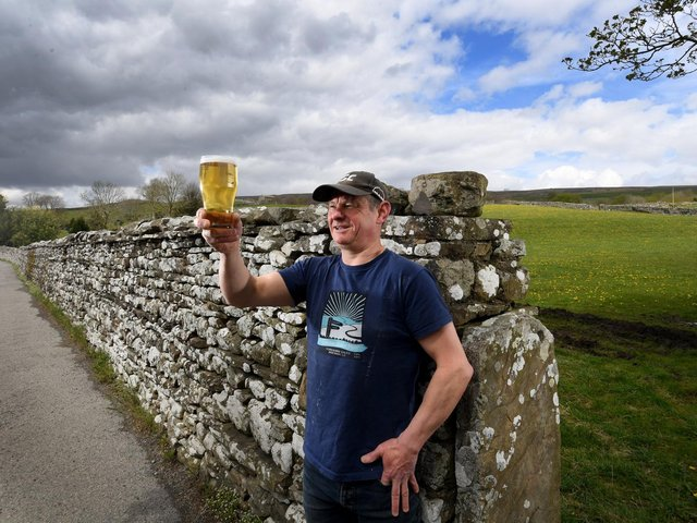 Rob Wiltshire of the Yorkshire Dales Brewing Company