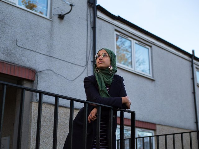 Poet and podcaster Suhaiymah Manzoor-Khan. Picture: Caitlin Hall.