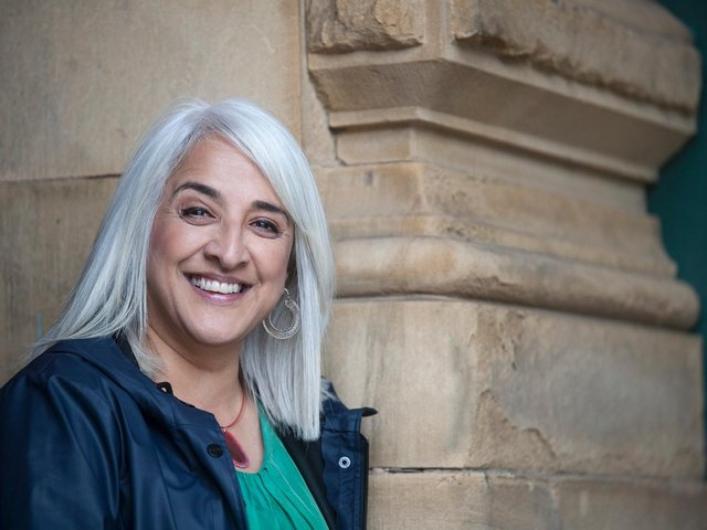 Shanaz Gulzar, the chairwoman of Bradford's bid to become the UK City of Culture in 2025. (Picture: Tim Smith)