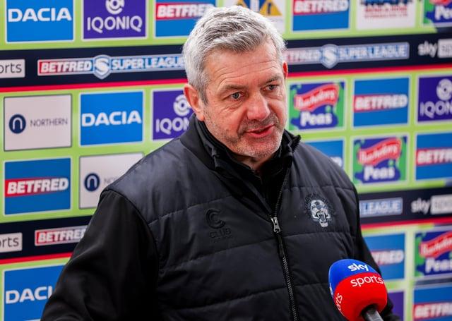Castleford's head coach Daryl Powell. (Picture: SWPix.com)