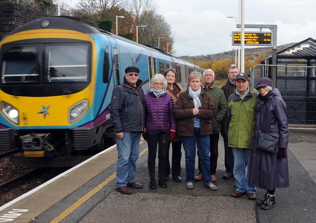 Rail campaigners from Slaithwaite and Marsden are still pressing for answers from Grant Shapps over planned improvements.