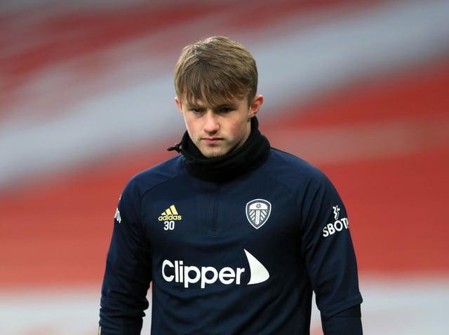 DEVELOPING: Leeds United striker Joe Gelhardt