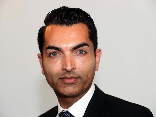 Heckmondwike councillor Aafaq Butt