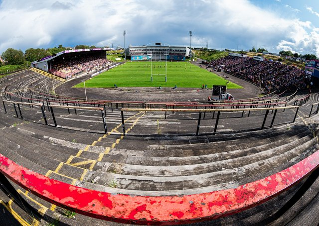 A general view during the last game to be played at Odsal Stadium (Picture: SWPix.com)