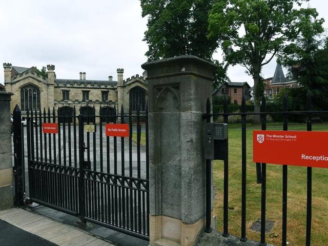 The Minster School, York. Picture Jonathan Gawthorpe